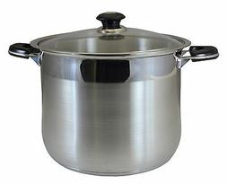 CONCORD 10 QT Commercial Grade Heavy Stainless Steel Stock P