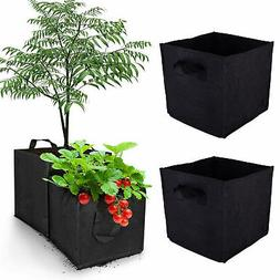 1PC Square Grow Bags Thick Fabric Flower Planting Pots with