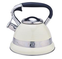 3.4QT Stainless Steel Water Pot Whistling Tea Kettle Stovepo