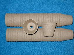 """50-3"""" DIA .JIFFY PEAT POTS for SEED STARTING/GREENHOUSE SUPP"""