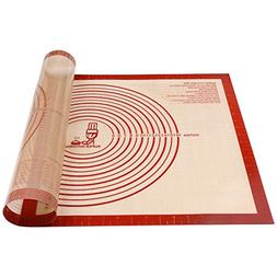 Non-slip Silicone Pastry Mat Extra Large with Measurements 2