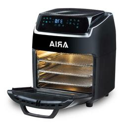 Black AirFryer with Recipe Book