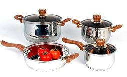 Uniware Stainless Steel Cookware Set )