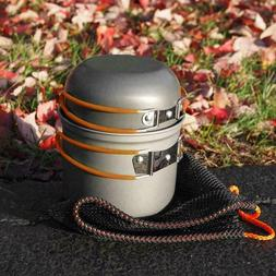 DS-101 Outdoor Camping Cookware Set, Portable,  Handle Table