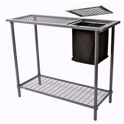 Potting Bench Garden & Greenhouse Table Wire Grid Top Steel