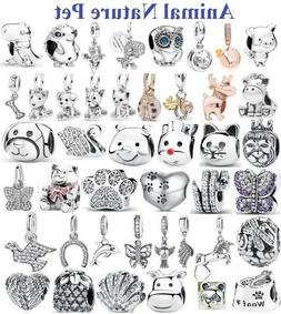 genuine 925 sterling silver animals and pets