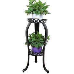 Metal Potted Plant Stand, 32inch Rustproof Decorative Flower