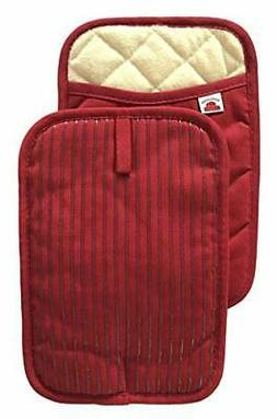 Big Red House Pot Holders for Kitchen, hot Pads with The Hea