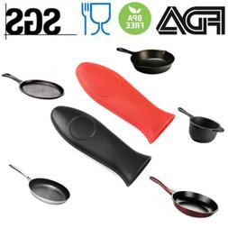 Silicone Pot Handle Holder For Skillet Handle Sleeve Cast Ir