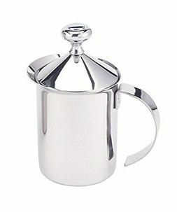 HIC Brands that Cook Stainless Steel Milk Frother, 14-Ounce