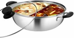 Tayama Stainless Steel Pot with Divider TG-28C